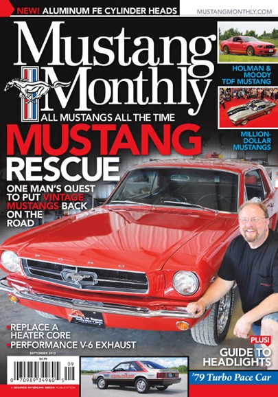 Mustang Monthly Cover - 9/1/2013