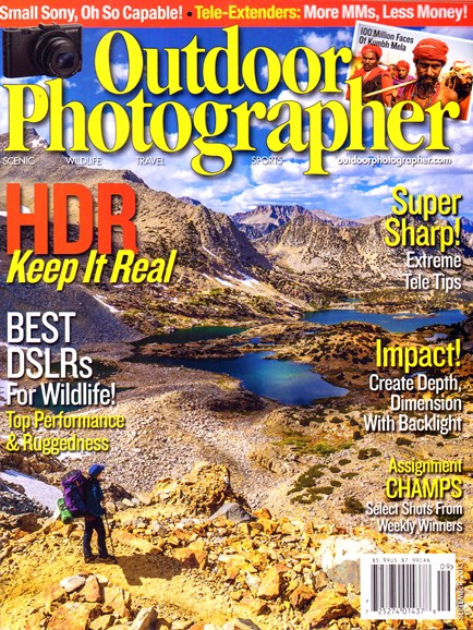 Outdoor Photographer Cover - 9/1/2013