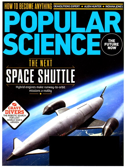 Popular Science Cover - 9/1/2013