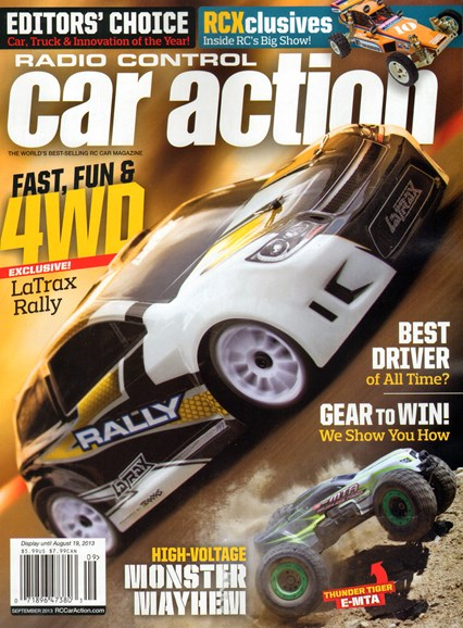 Radio Control Car Action Cover - 9/1/2013