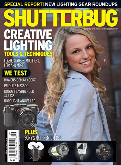 Shutterbug Cover - 9/1/2013