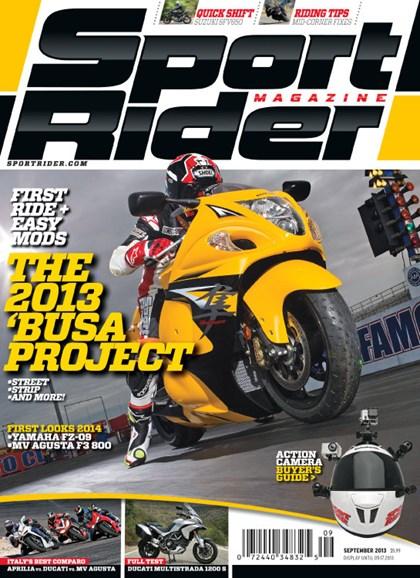 Sport Rider Cover - 9/1/2013