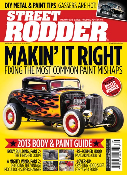 Street Rodder Cover - 9/1/2013