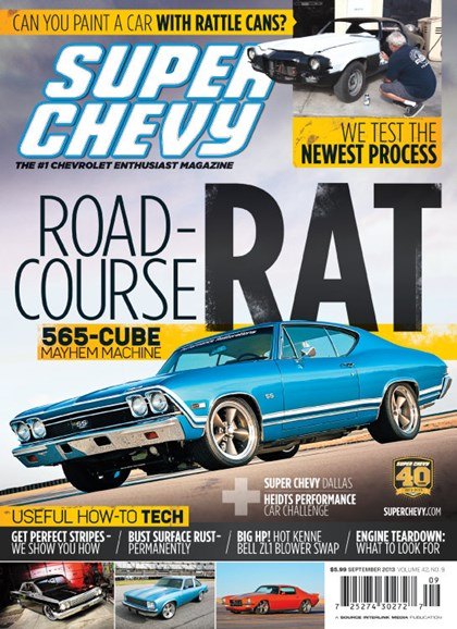 Super Chevy Cover - 9/1/2013