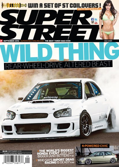 Super Street Cover - 9/1/2013