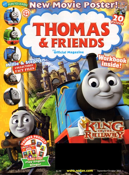 Thomas & Friends Cover - 9/1/2013
