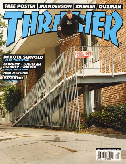 Thrasher Cover - 9/1/2013