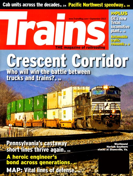 Trains Cover - 9/1/2013