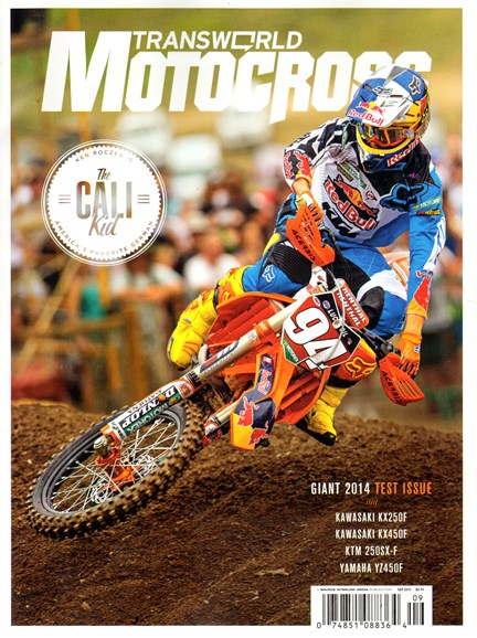 Transworld Motocross Cover - 9/1/2013
