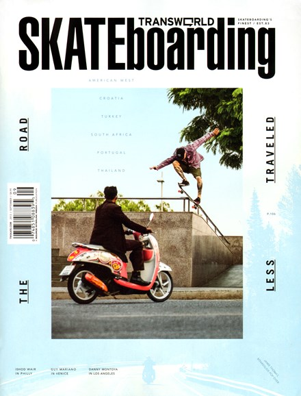 Transworld SKATEboarding Cover - 9/1/2013