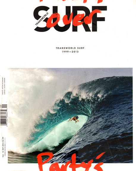 Transworld SURF Cover - 9/1/2013