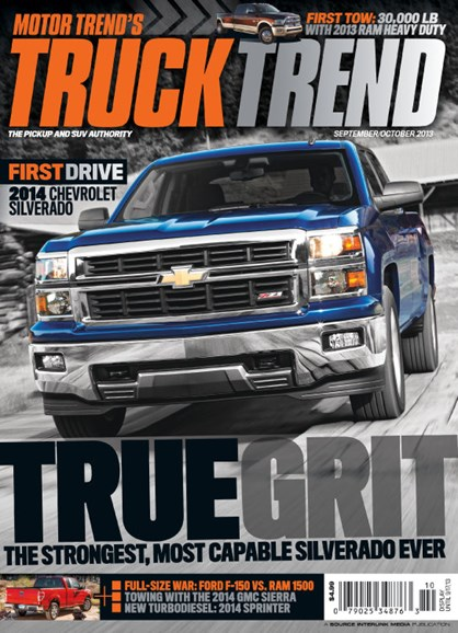 Truck Trend Cover - 9/1/2013