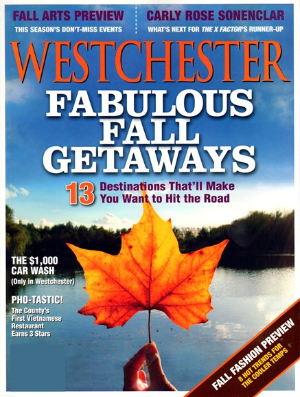 Westchester Magazine Cover - 9/1/2013