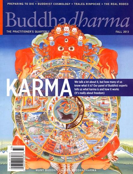 BUDDHADHARMA: THE PRACTIONER'S QUARTERLY Cover - 9/1/2013