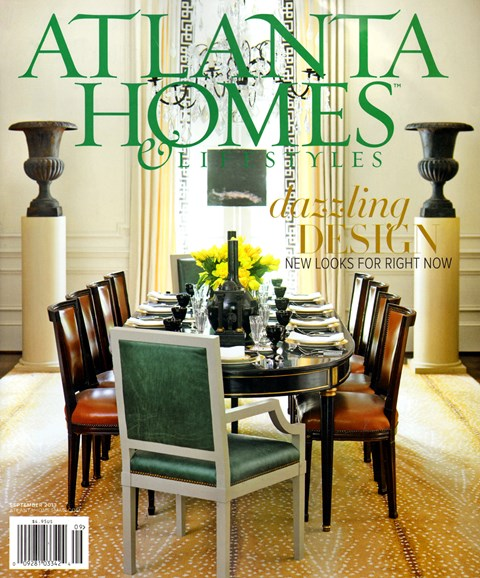 Atlanta Homes & Lifestyles Cover - 9/1/2013