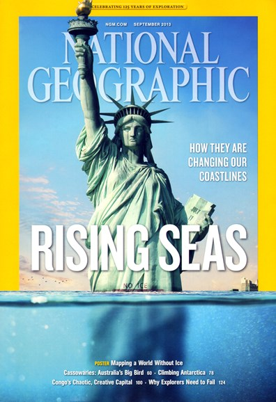 National Geographic Cover - 9/1/2013
