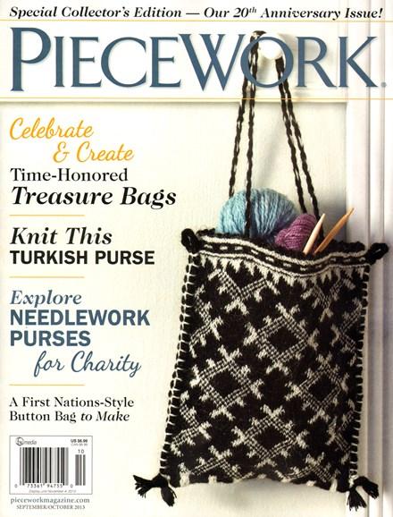 Piecework Cover - 9/1/2013