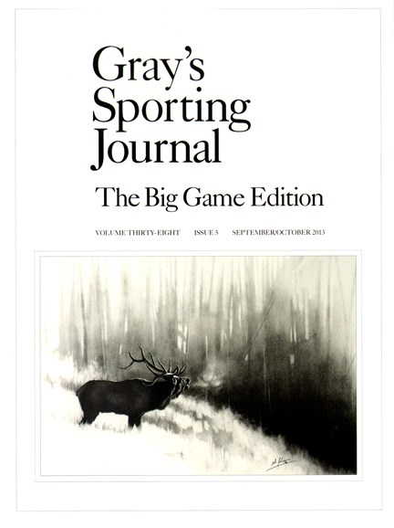 Gray's Sporting Journal Cover - 9/1/2013