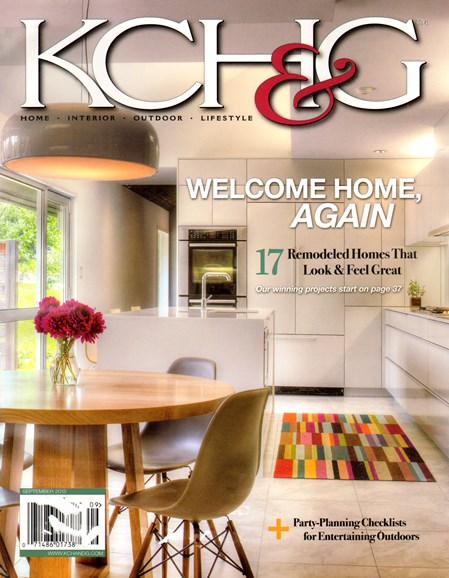 Kansas City Homes & Gardens Cover - 9/1/2013