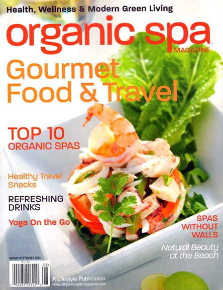 Organic Spa Cover - 8/1/2013