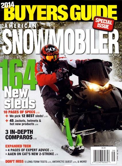 American Snowmobiler Cover - 9/1/2013