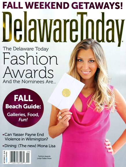 Delaware Today Cover - 9/1/2013