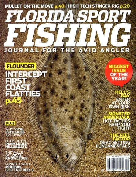 Florida Sport Fishing Cover - 9/1/2013