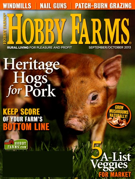 Hobby Farms Cover - 9/1/2013