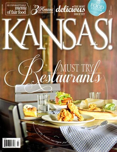KANSAS! Cover - 9/1/2013