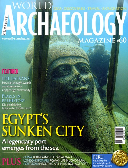 Current World Archaeology Cover - 9/1/2013