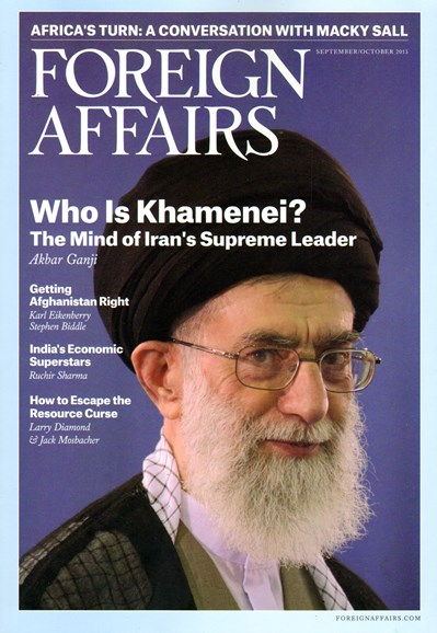 Foreign Affairs Cover - 9/1/2013