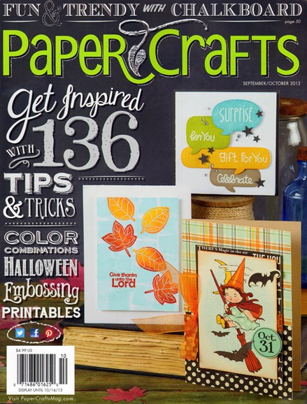 Paper Crafts Cover - 9/1/2013