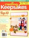 Creating Keepsakes | 9/1/2013 Cover