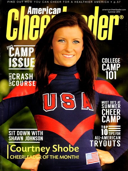 American Cheerleader Cover - 9/1/2013
