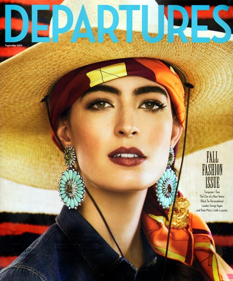 Departures Cover - 9/1/2013