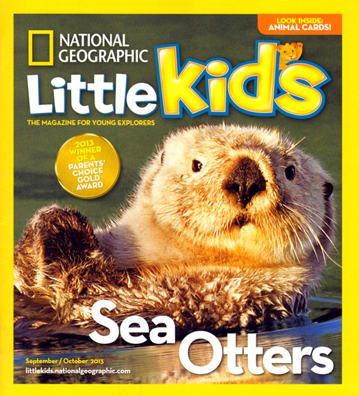 National Geographic Little Kids Cover - 9/1/2013