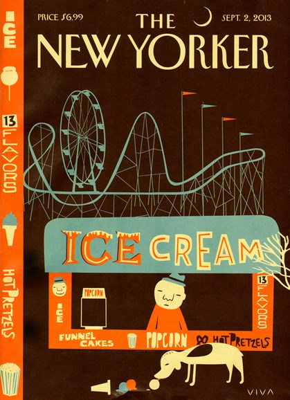 The New Yorker Cover - 9/2/2013