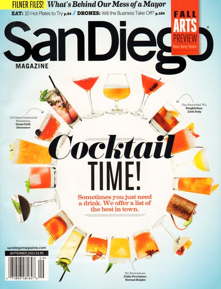 San Diego Cover - 9/1/2013