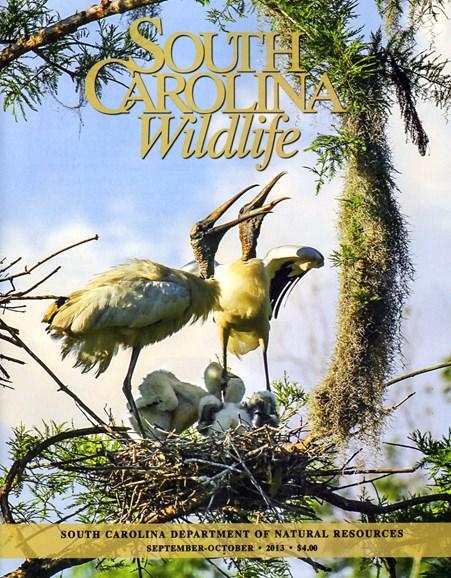 South Carolina Wildlife Cover - 9/1/2013