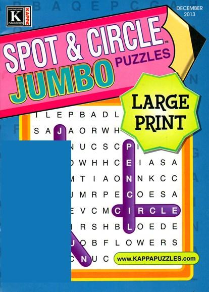 Spot & Circle Jumbo Cover - 12/1/2013