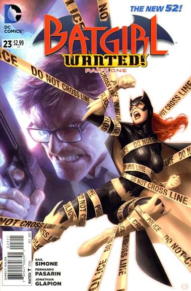 Batgirl Cover - 10/1/2013