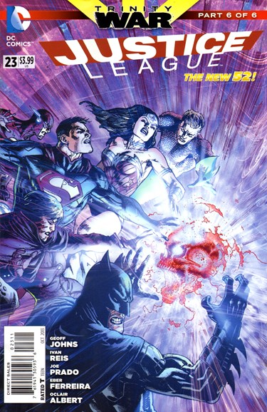 Justice League Cover - 10/1/2013