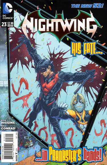 Nightwing Cover - 10/1/2013