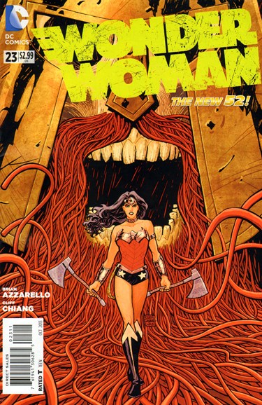Wonder Woman Cover - 10/1/2013