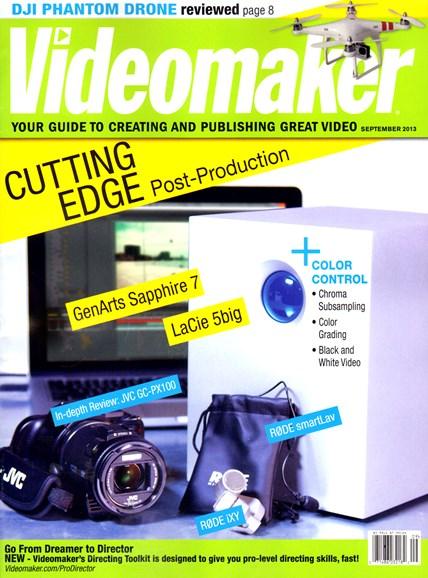 Videomaker Cover - 9/1/2013