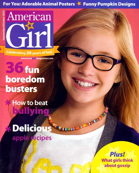 American Girl Cover - 9/1/2013