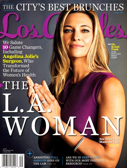 Los Angeles Cover - 9/1/2013