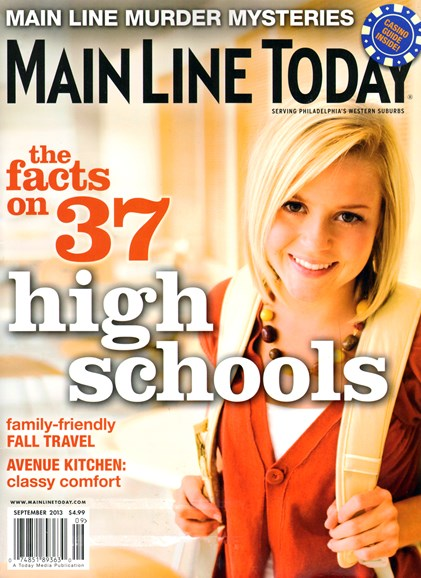 Main Line Today Cover - 9/1/2013