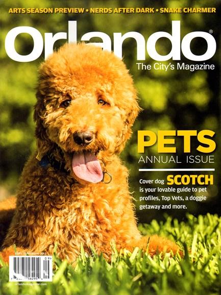 Orlando Magazine Cover - 9/1/2013
