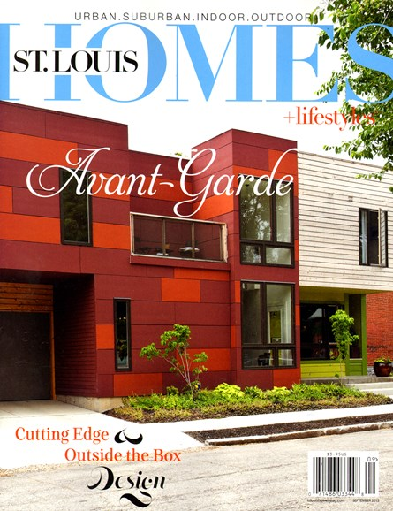 St. Louis Homes & Lifestyles Cover - 9/1/2013